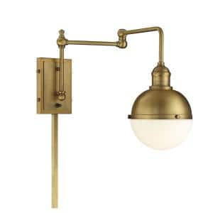 Brass in Sconces