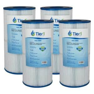 Filtration Area (sq. ft): 50 in Cartridge Pool Filters