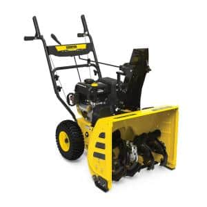 Electric Start in Two-Stage Snow Blowers