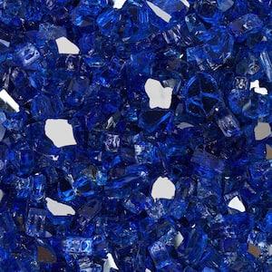Blue in Fire Glass