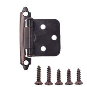 Oil Rubbed Bronze in Cabinet Hinges