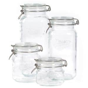 Clear Glass Jars
