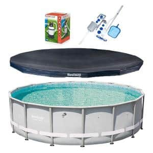 Pool Size: Round-16 ft. in Above Ground Pools