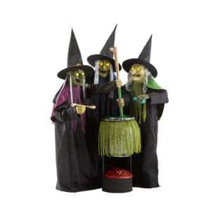 Witch in Halloween Decorations