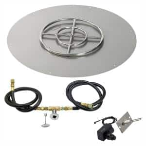 Fire Pit Insert in Outdoor Heating