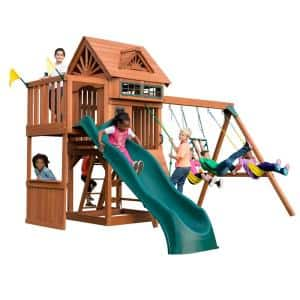 Number of Swings Included: 3 in Swing Sets