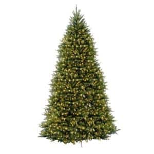Artificial Tree Size (ft.): 12 ft in Pre-Lit Christmas Trees