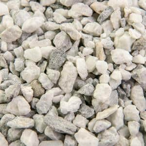 White in Bagged Landscape Rocks