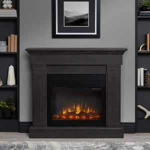 Gray in Electric Fireplaces