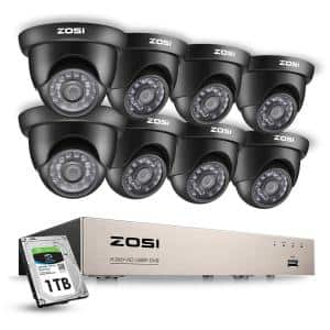 Number of Cameras Included: 8 in Security Camera Systems