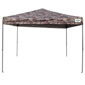 Camo in Pop-Up Tents