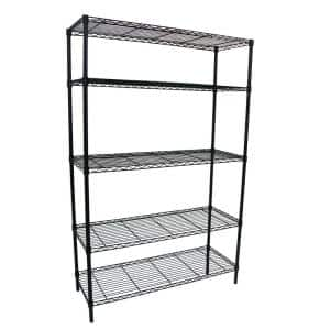 Number of Shelves: 5 Tiers