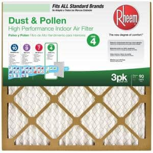 Air Filter Size: 20x25