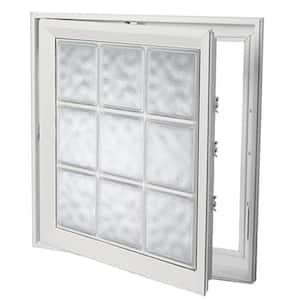 Venting in Glass Block Windows & Accessories