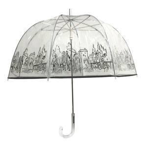 London Fog in Rain Umbrellas