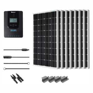 Cabin in Off Grid Solar Systems