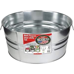 Pails/Buckets/Tubs in Galvanized Buckets