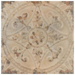 Approximate Tile Size: 13x13 in Ceramic Tile