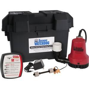 $250 - $300 in Sump Pump Backup Batteries