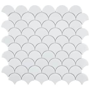Backsplash in Glass Tile