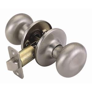 Nickel in Door Knobs