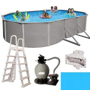 Pool Size: Oval-18 ft. x 33 ft.