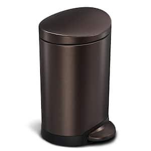 Bronze/copper metallic in Trash Cans