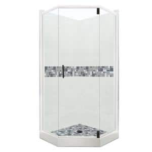 Approximate Length x Width: 48 x 48 in Shower Stalls & Kits