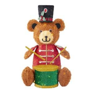 Bear in Outdoor Christmas Decorations