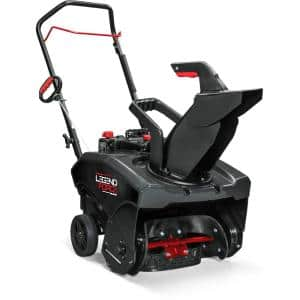 Auger Assisted in Single-Stage Snow Blowers