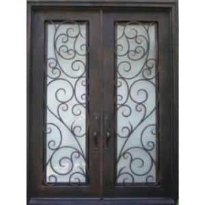 Iron Doors With Glass