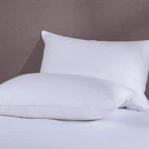 Duck Down in Bed Pillows