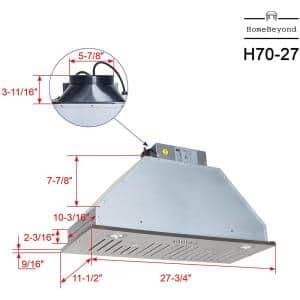 Range Hood Size (Width): 28 in.