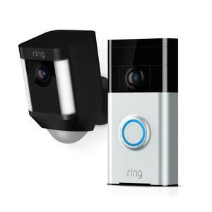 Mounting Hardware in Doorbell Cameras
