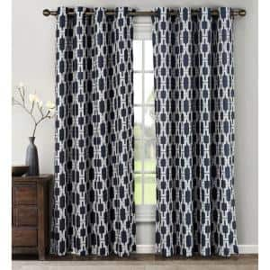 Navy in Curtains