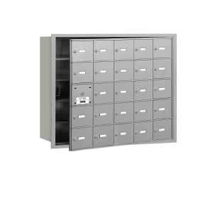 Number of Compartments: 24 in Cluster Mailboxes