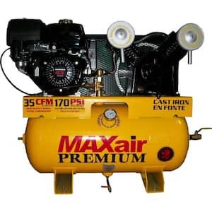 Gas in Air Compressors