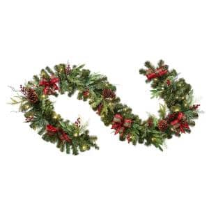 Battery Operated in Christmas Garland