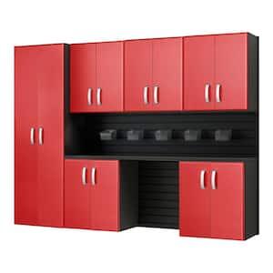 Red in Garage Storage