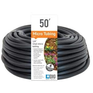 DIG in Drip Irrigation Tubing