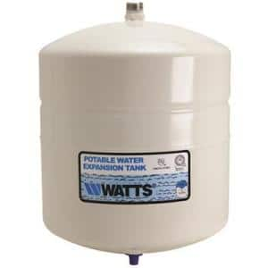Steel Tank with an FDA-approved polypropylene liner and Butyl rubber diaphragm