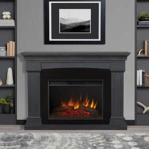 Gray in Freestanding Electric Fireplaces