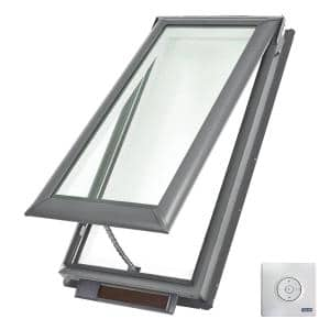 Solar Powered in Vented Skylights