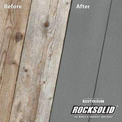 5 gal. Gray Exterior 2X Solid Stain