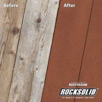 1 gal. California Rustic Exterior 20X Deck Resurfacer
