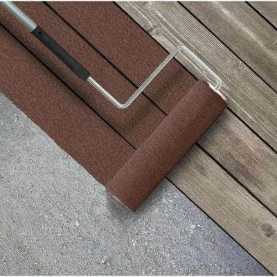 5 gal. #SC-129 Chocolate Textured Solid Color Exterior Wood and Concrete Coating