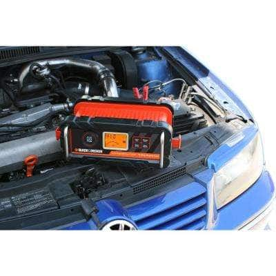 15 Amp Portable Car Battery Charger with 40 Amp Engine Start and Alternator Check