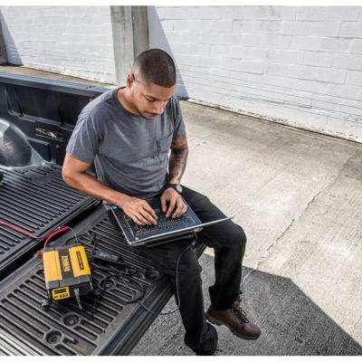 1000-Watt Portable Car Power Inverter with Triple USB Ports