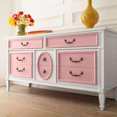 1 qt. #HDC-CT-09 Bridal Bouquet Interior Chalk Decorative Paint