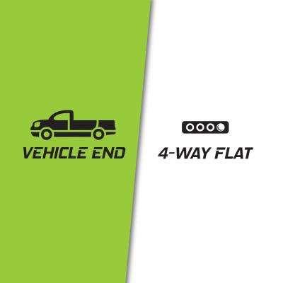 4-Way Flat to 7-Way Round Blade